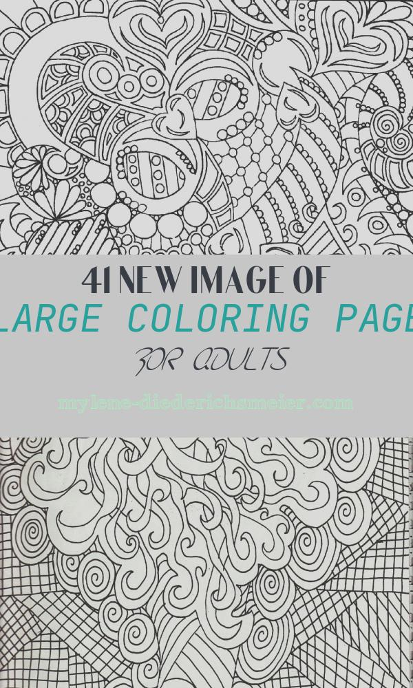 Large Coloring Page for Adults Unique Adult Coloring Sheets