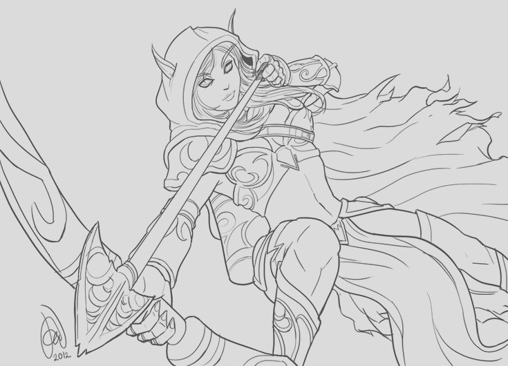 ldshadowlady coloring pages of an osalot sketch templates