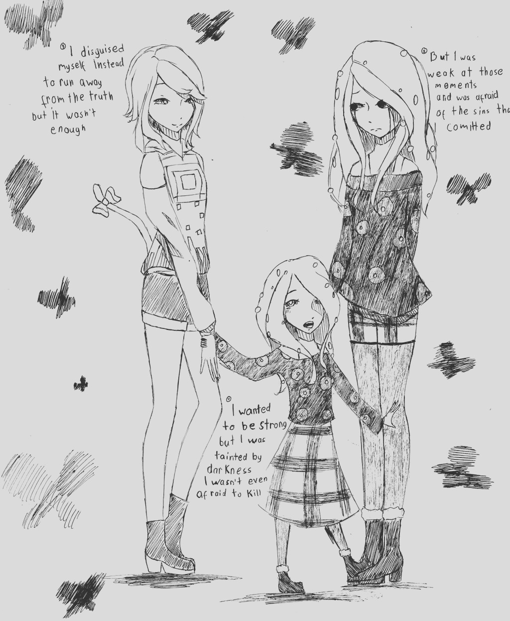 coloring pages ldshadowlady skin sketch templates