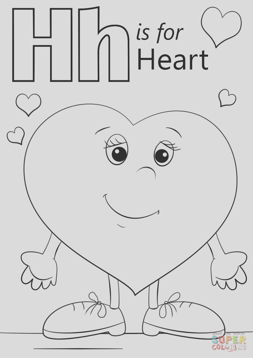 letter h is for heart