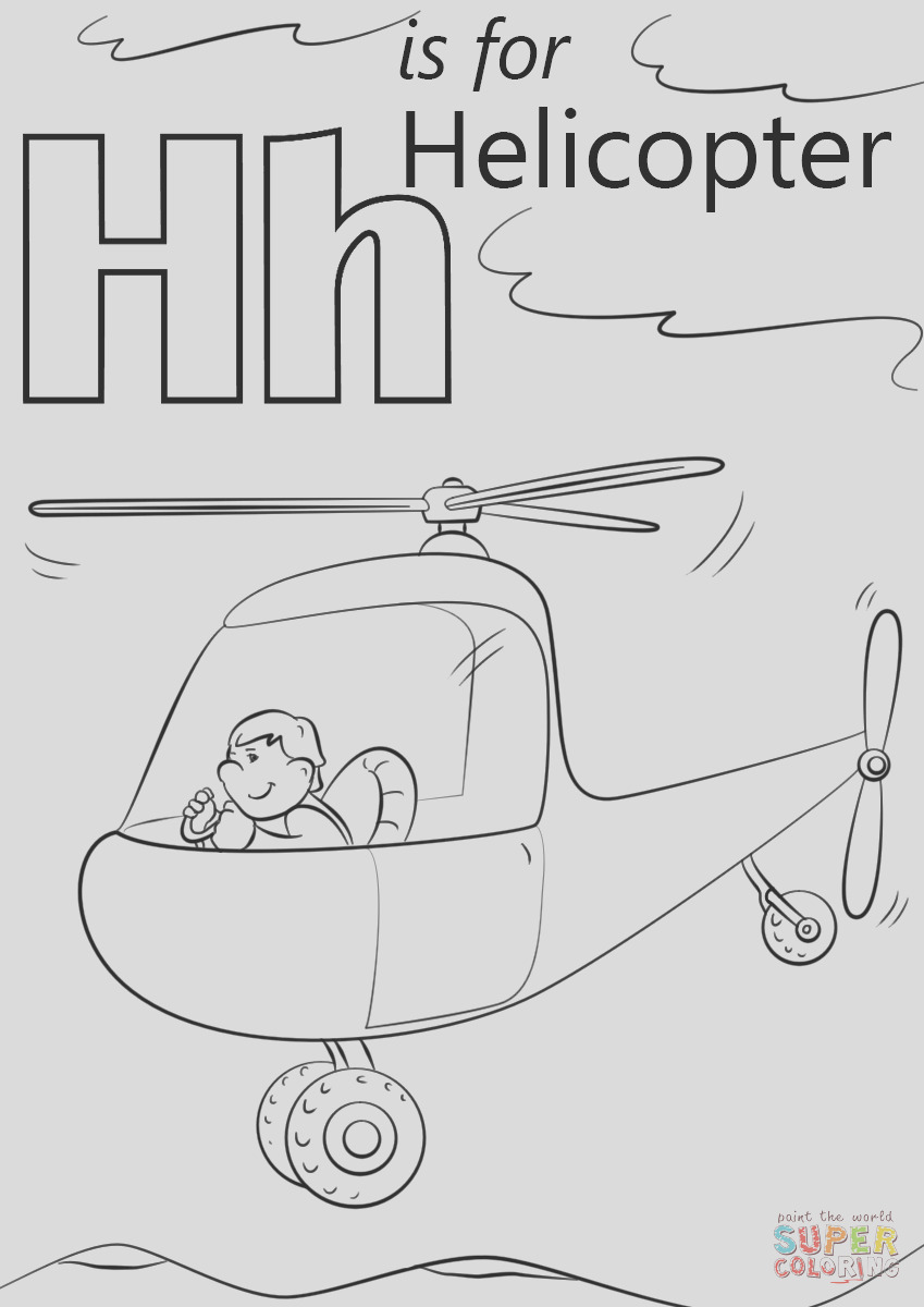 letter h is for helicopters
