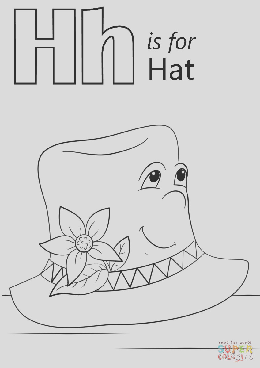 letter h is for hat