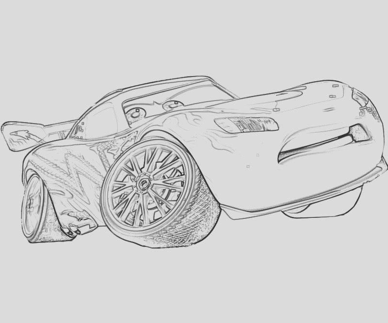 free printable lightning mcqueen coloring pages kids