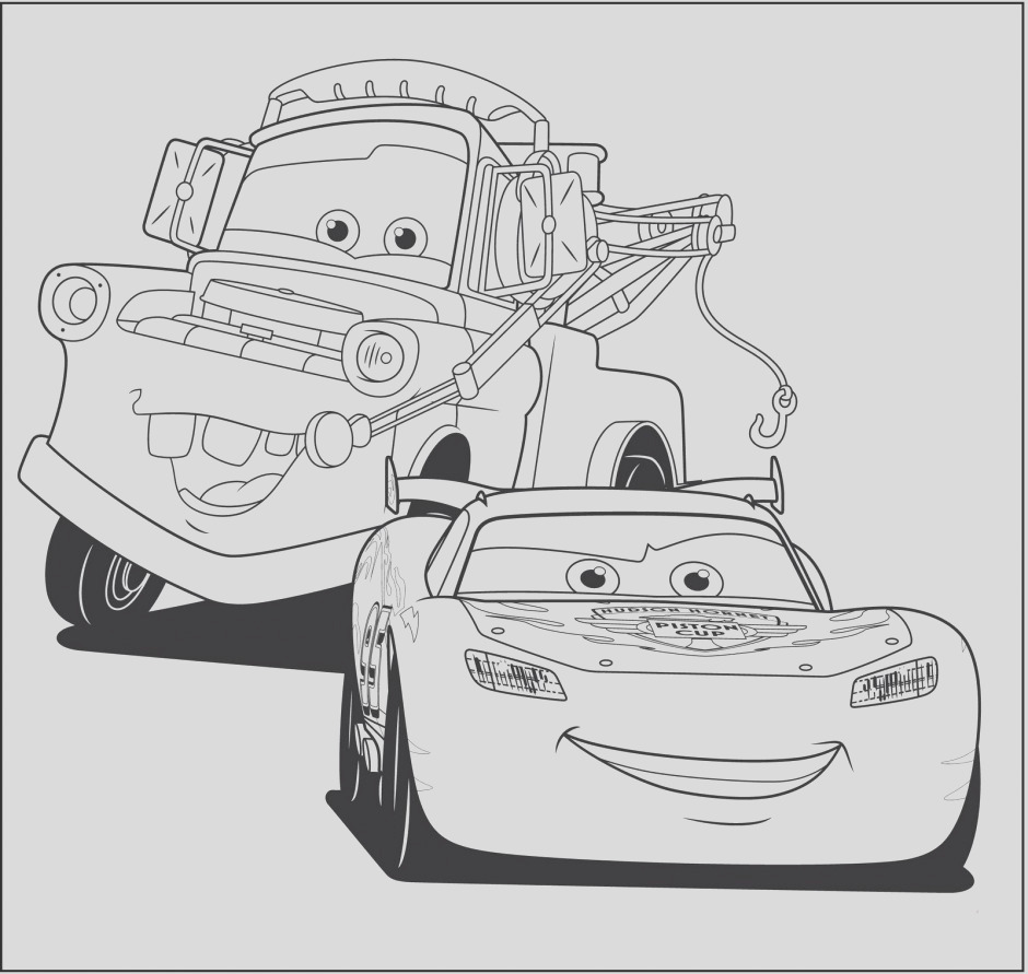 printable lightning mcqueen coloring pages 889