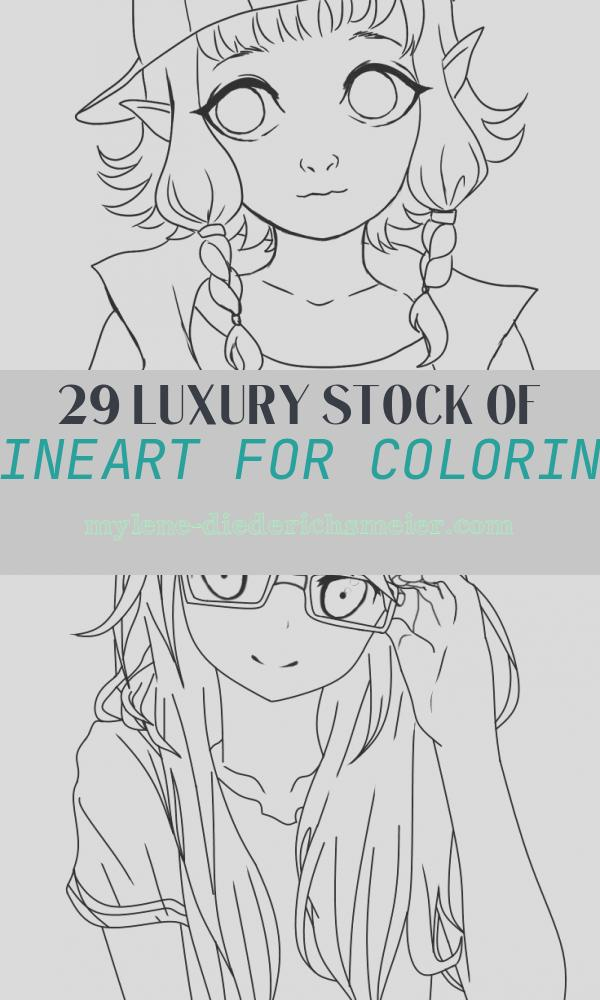 Lineart for Coloring Elegant Urban Elf Lineart Free to Color by Nasuki100 On Deviantart