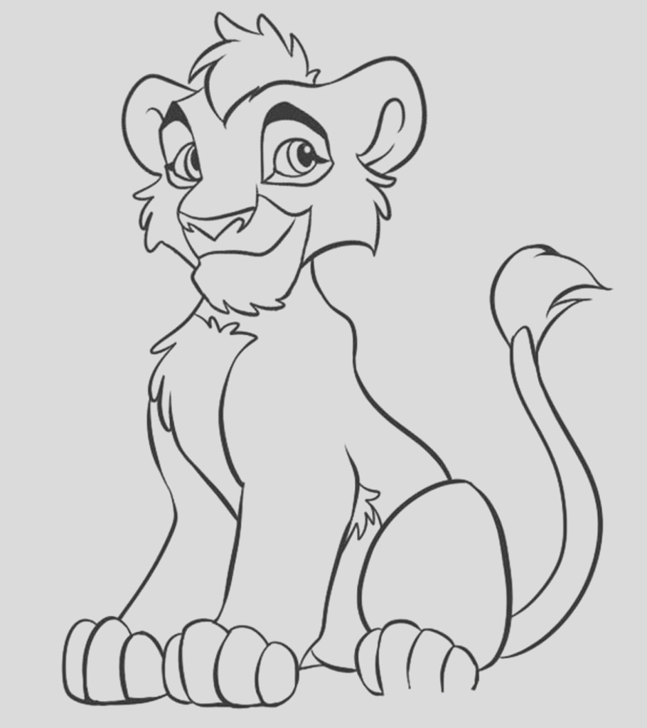 the lion king coloring pages your toddler will love to do
