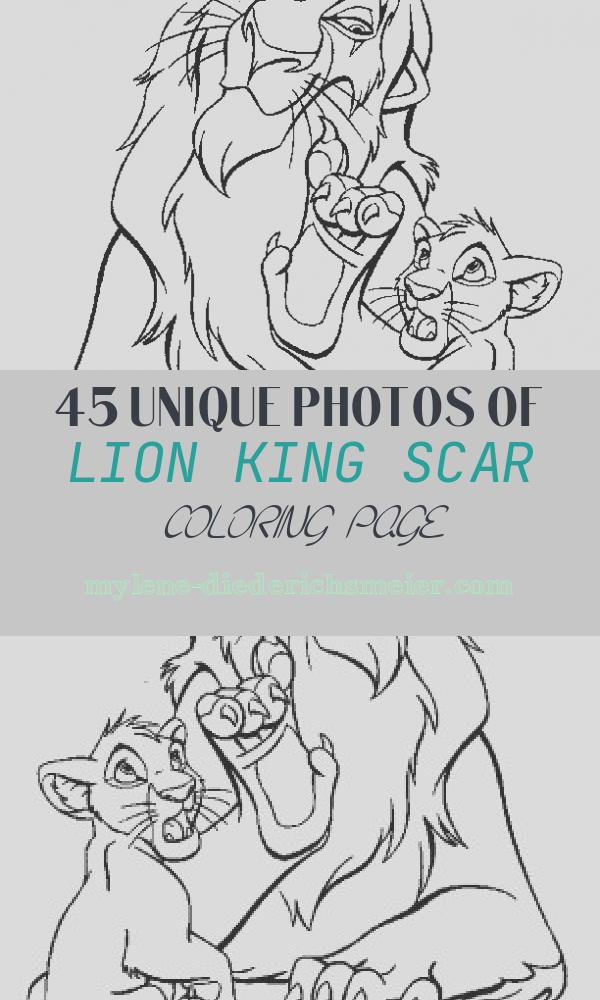 Lion King Scar Coloring Page Beautiful 24 Best Lion King Coloring Pages Images On Pinterest