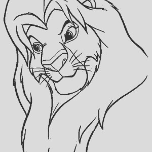 mufasa and scar are fighting the lion king coloring page 2