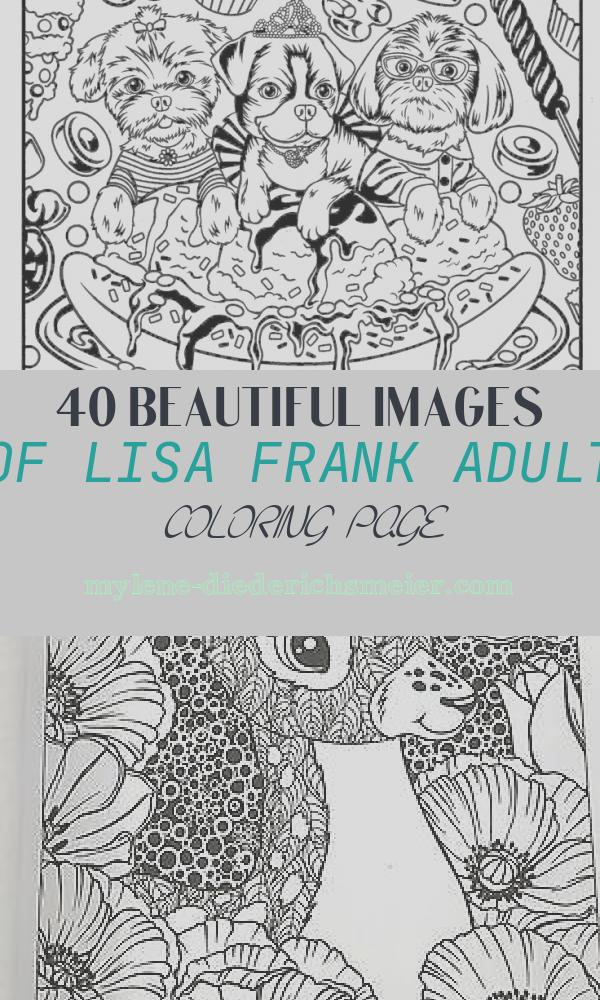 Lisa Frank Adult Coloring Page Lovely 177 Best Images About Coloring Books On Pinterest