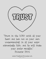 trust quotes coloring pages