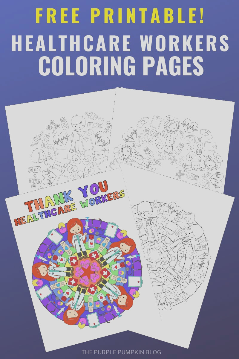 thank you healthcare workers coloring pages healthcare mandalas