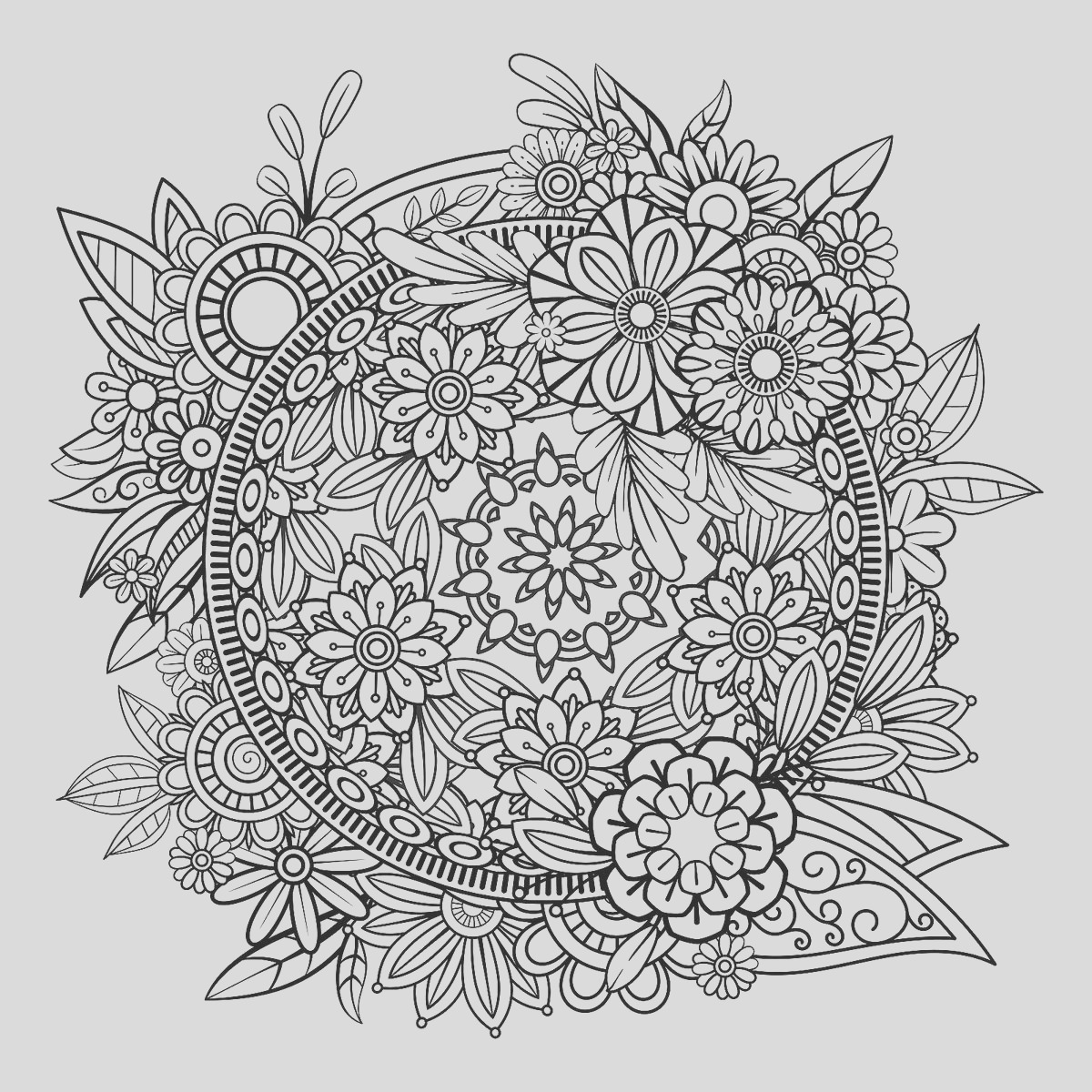 Mandala Coloring Pages Printable Coloring Pages of Mandalas for Adults Kids