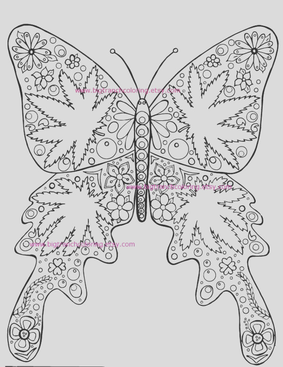 adult coloring page hippie