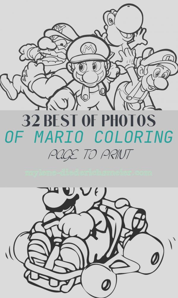 Mario Coloring Page to Print Elegant Mario Coloring Pages to Print