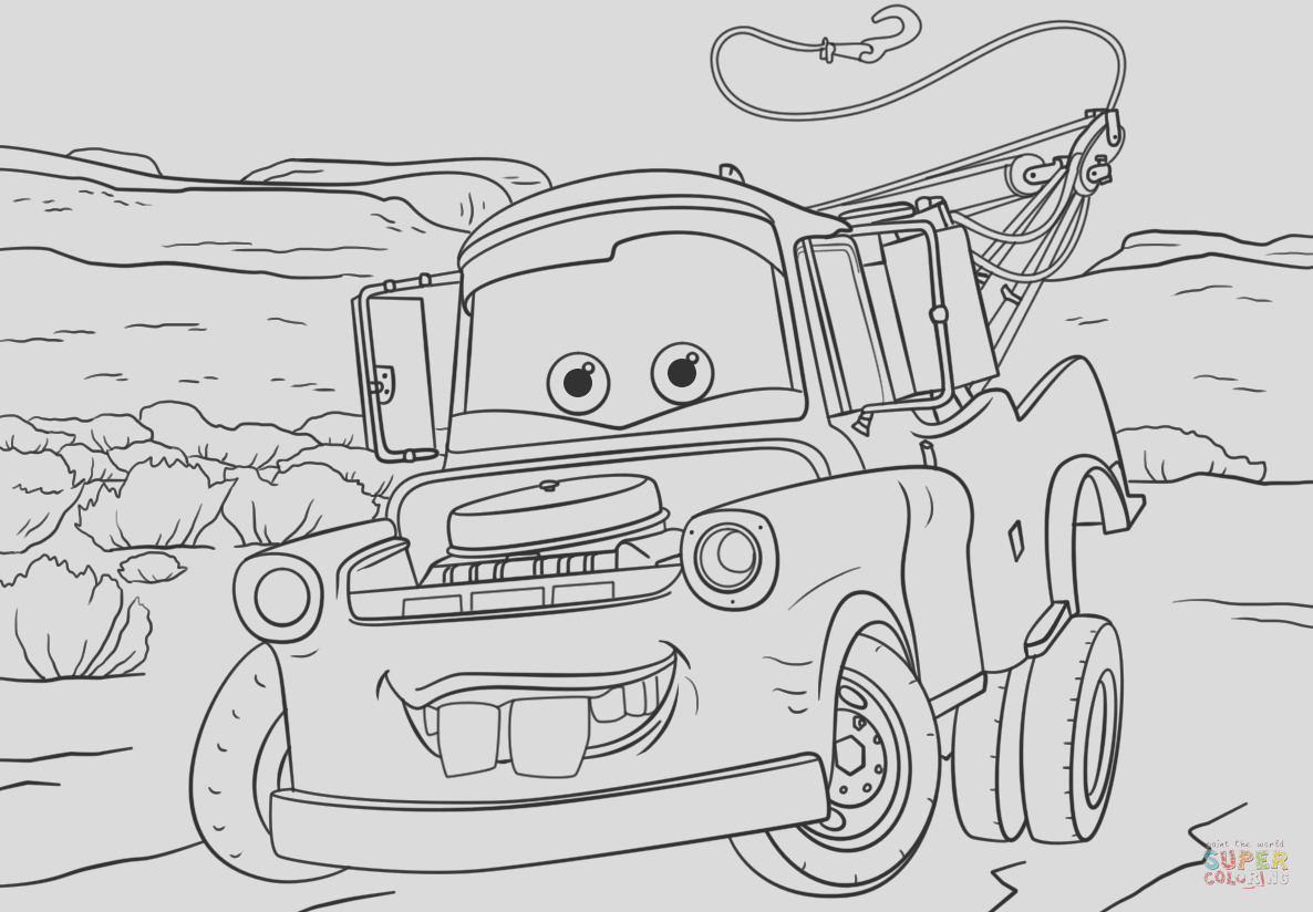 tow mater from cars 3