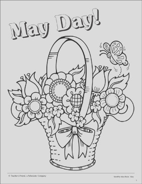 may day coloring page 015