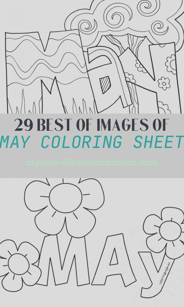 May Coloring Sheet Inspirational Months Of the Year Coloring Pages Classroom Doodles