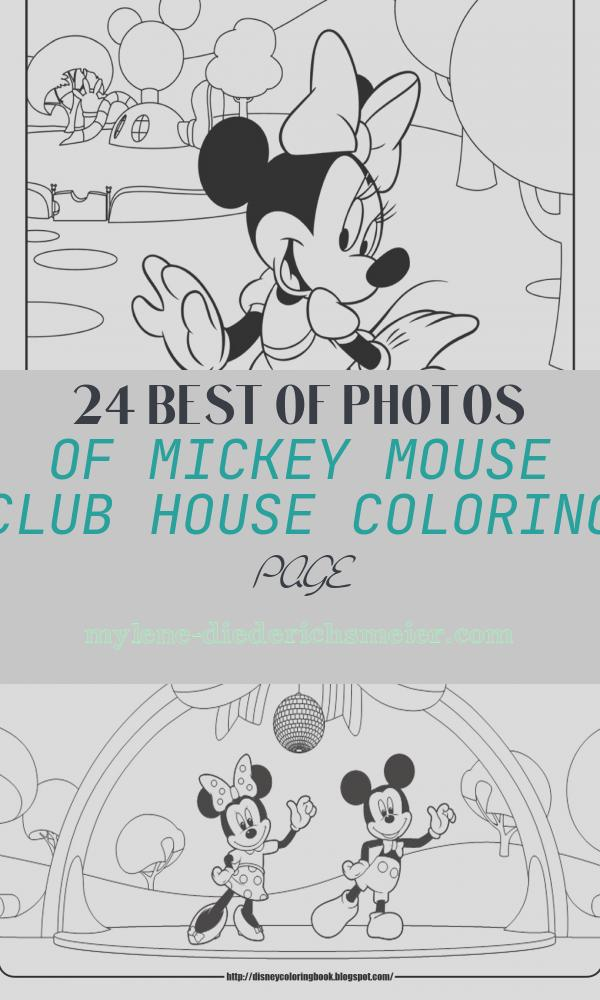 Mickey Mouse Club House Coloring Page New Disney Coloring Pages and Sheets for Kids Mickey Mouse