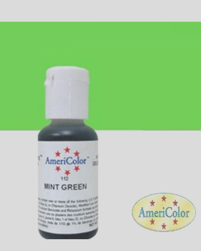 americolor mint green 0 75oz