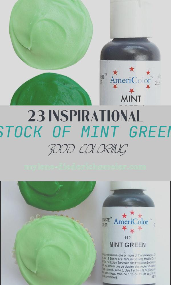 Mint Green Food Coloring Fresh Americolor Mint Green Gel Paste Food Color High Quality Food