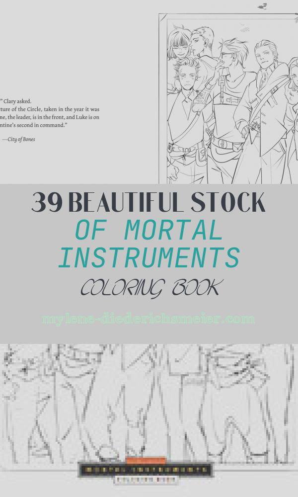 Mortal Instruments Coloring Book Fresh the Ficial Mortal Instruments Coloring Book