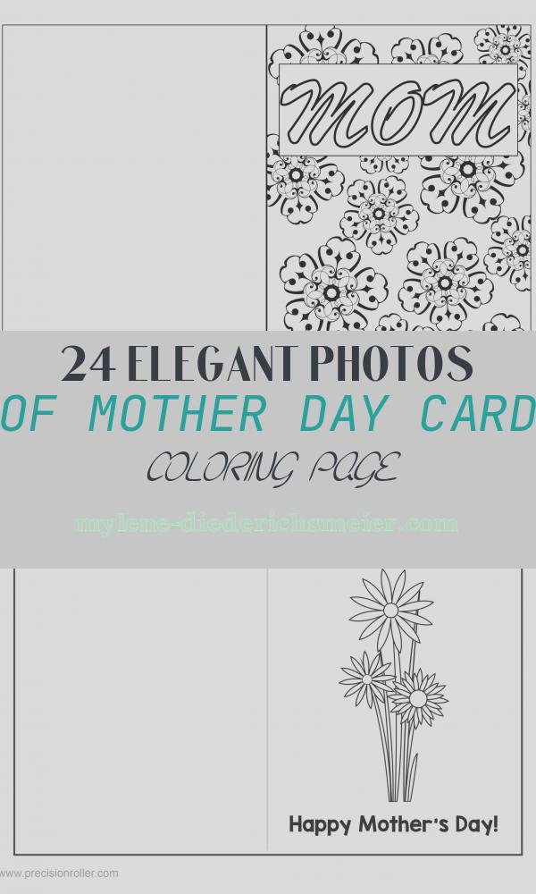 Mother Day Card Coloring Page Elegant Mother S Day Coloring Page Card Diy Printables 4 Mom