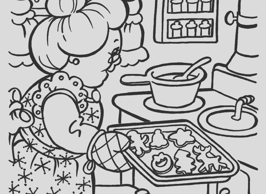 mrs claus coloring page