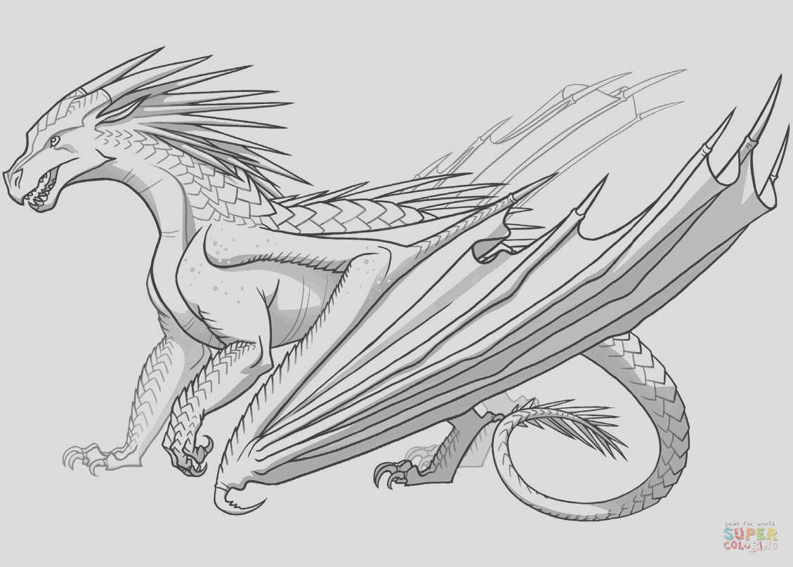icewing dragon from wings of fire