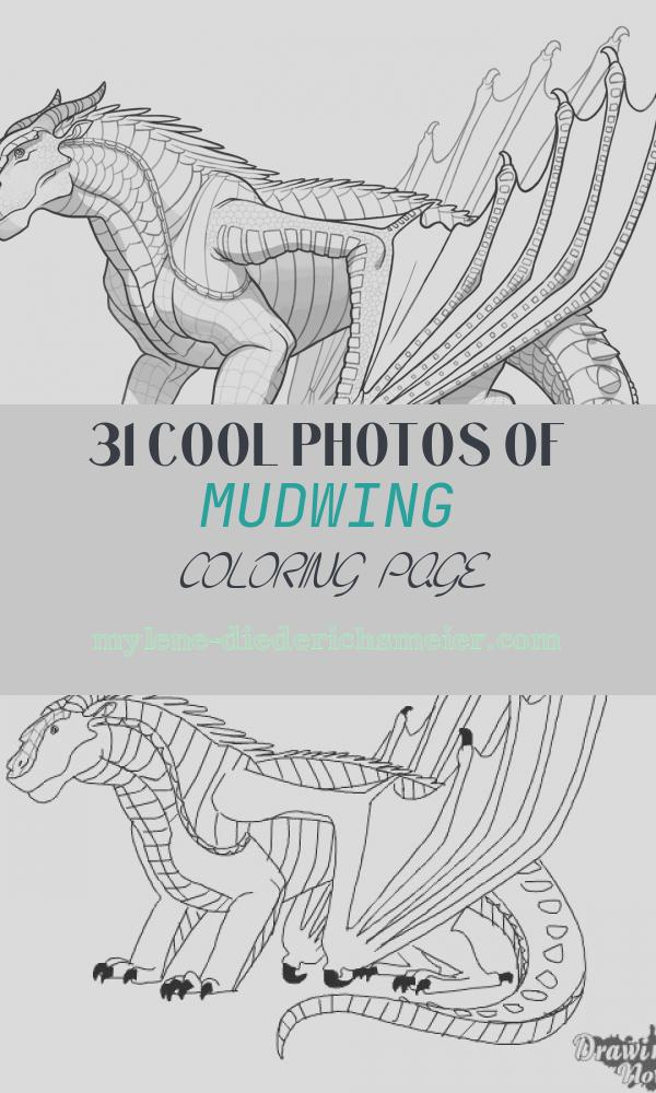 Mudwing Coloring Page Luxury Mudwing Dragon From Wings Of Fire Coloring Page