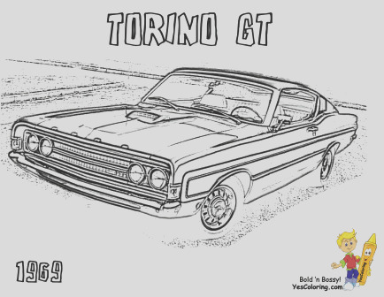 muscle car printables