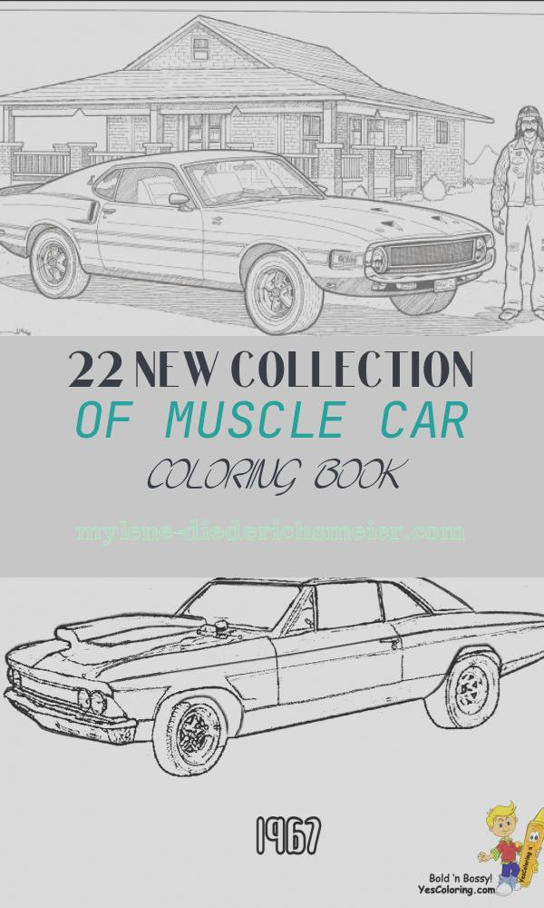 Muscle Car Coloring Book Best Of American Muscle Cars Coloring Book