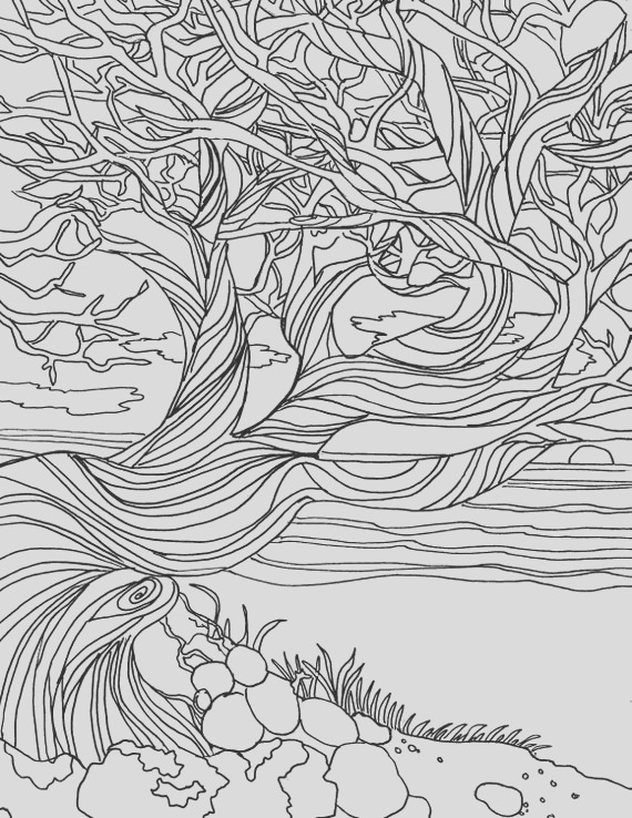 printable adult coloring page coloring