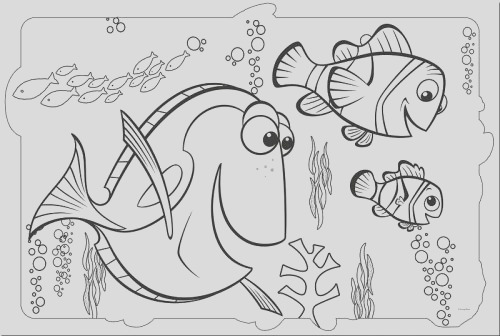 finding dory coloring pages printable
