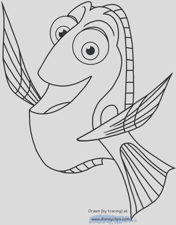 finding nemo dory coloring pages