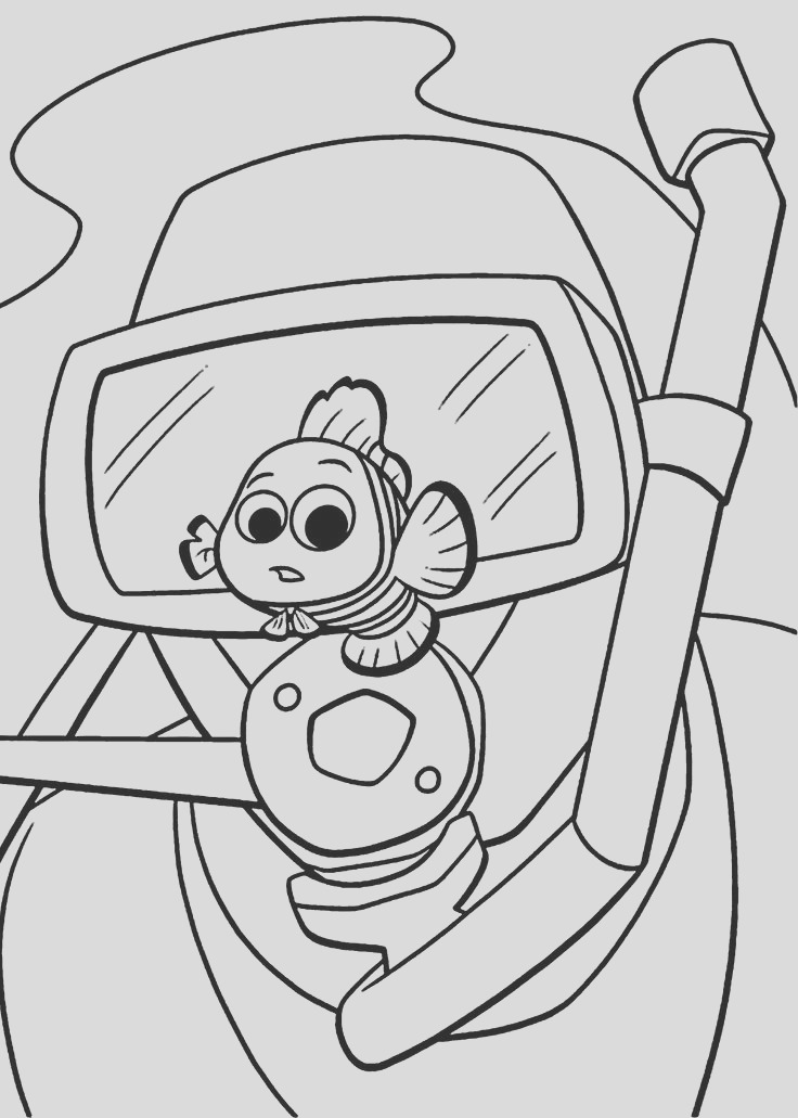 coloring pages finding nemo