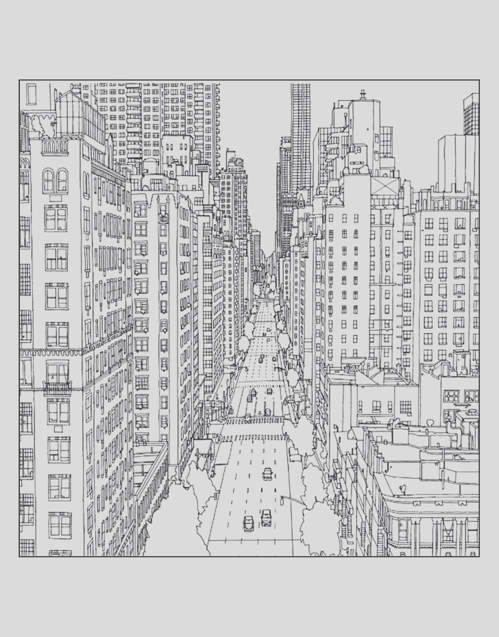 Get coloring page New York City