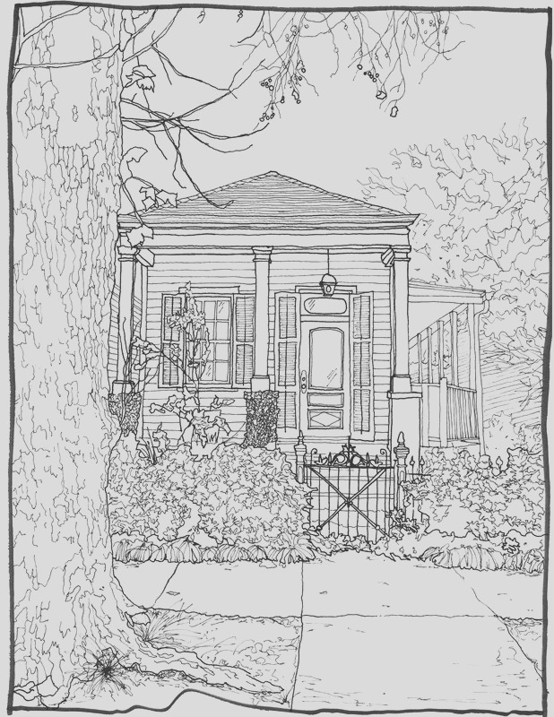 architecture coloring pages for adults