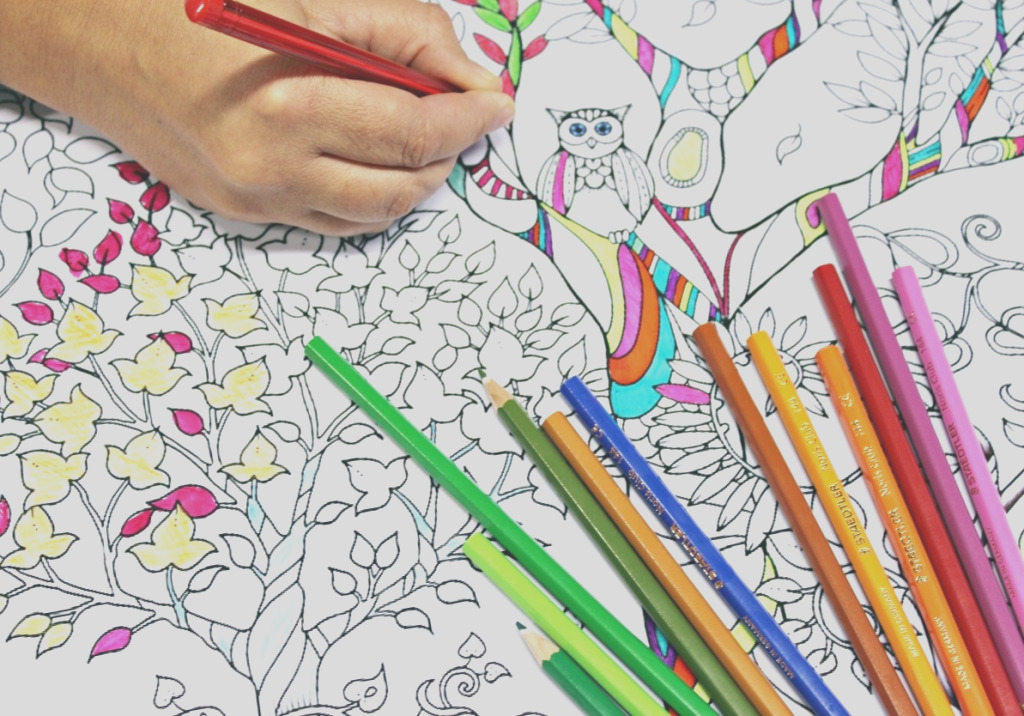 anti stress coloring books are egypts new answer to increasing stress and depression tendencies