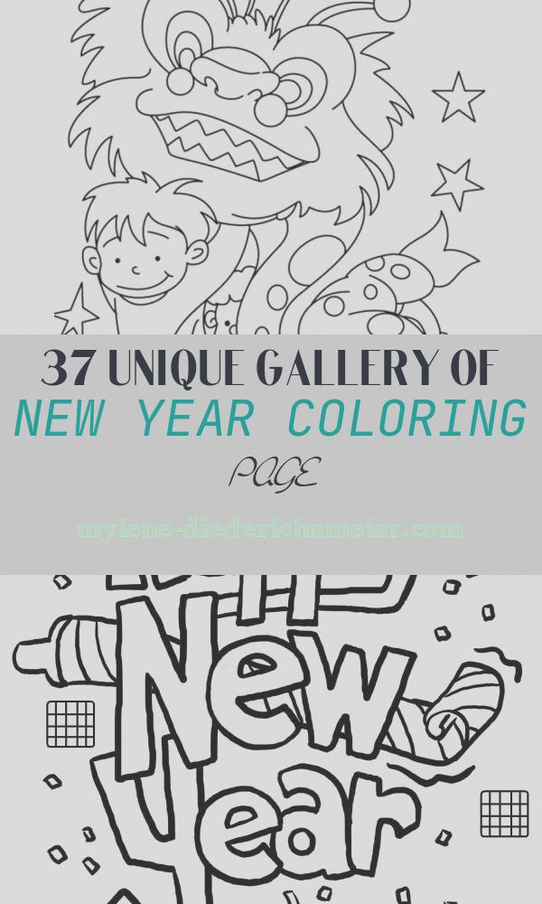 New Year Coloring Page New top 15 Chinese New Year Coloring Pages for toddler