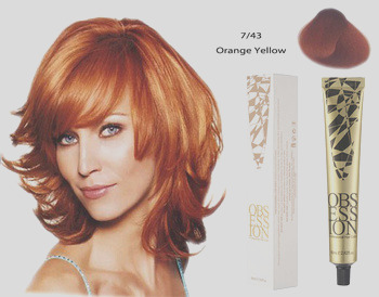 80ml organic non allergic hair dye