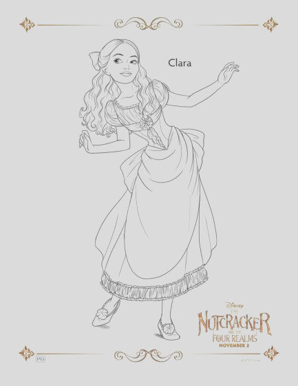 disneys the nutcracker and the four realms coloring pages