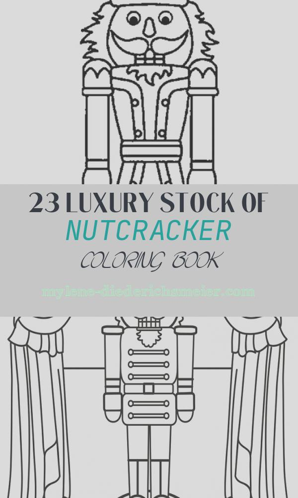 Nutcracker Coloring Book Beautiful Printable Nutcracker Coloring Pages for Kids