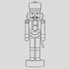 nutcracker coloring pages for your little ones