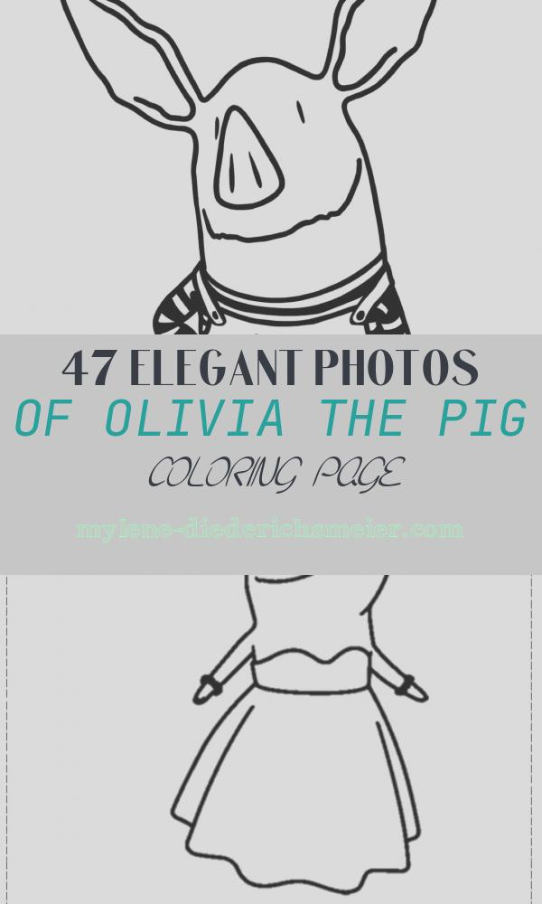 Olivia the Pig Coloring Page New Olivia the Pig Coloring Line