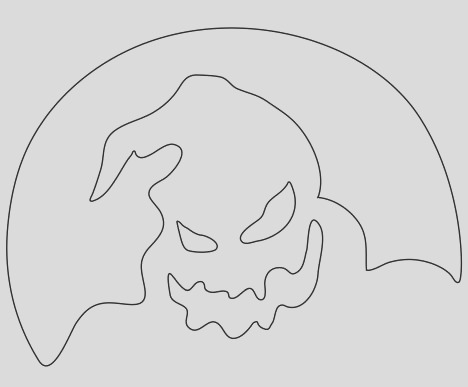 Oogie Boogie Coloring Page part 1