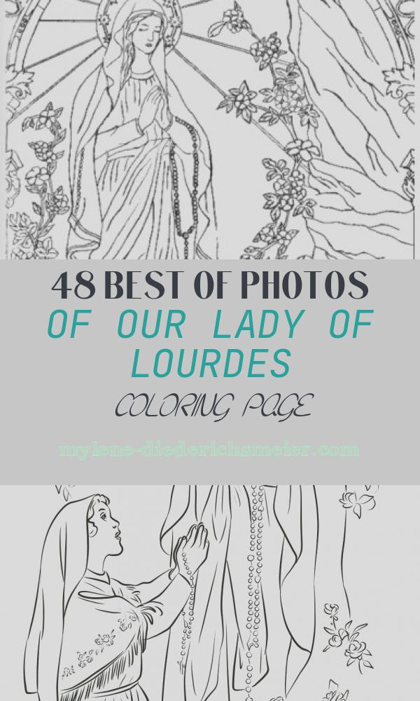 Our Lady Of Lourdes Coloring Page Best Of Our Lady Of Lourdes Coloring Page February 11th