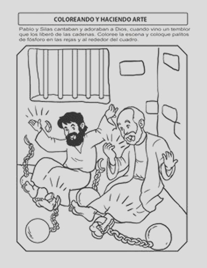coloring pages acts 16 jailer sketch templates