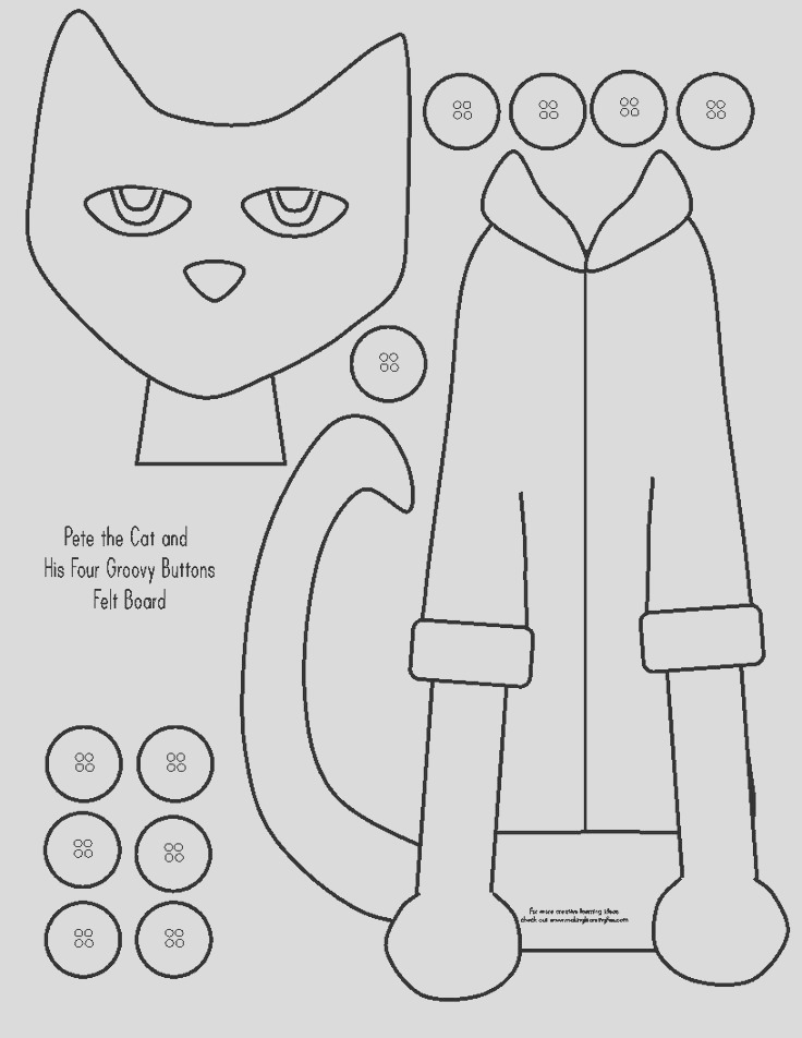 pete the cat eyes clipart