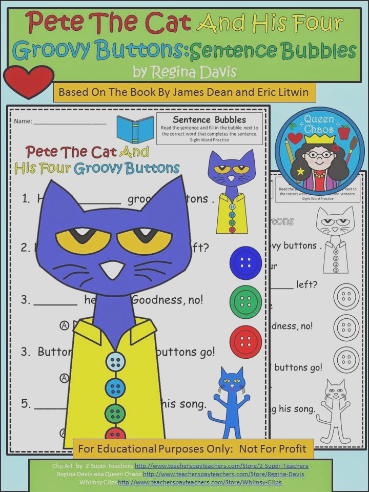 pete cat is where its at