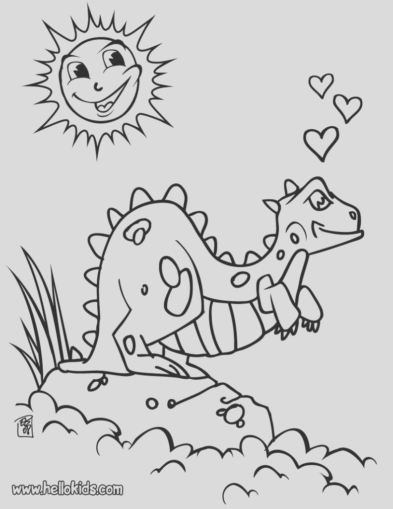dinosaur coloring pages photo